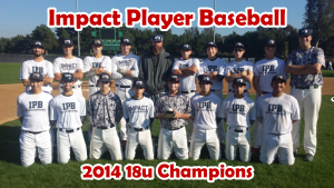 Impact Player Baseball 2014 Christmas Classic Champions
