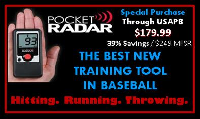 Pocket Radar - USAPB Special Purchase $179 / 39% Savings - Purchase through Coaches Choice - 714-373-0130