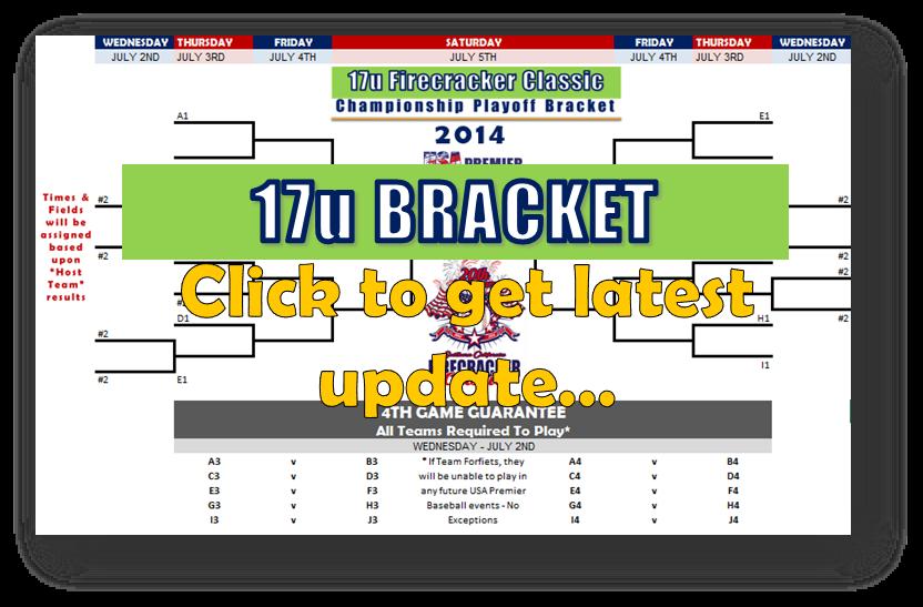2014 Firecracker 17U BRACKET