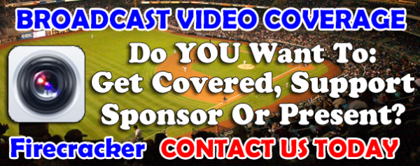 FIRECRACKER BROADCASTING VIDEO- Do you want to get your Team or Player covered? Be a Sponsor or present during the broadcasting? Contact us today