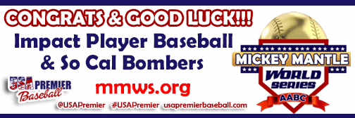 Congrats & Good Luck - Mickey Mantle World Series