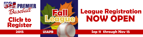 Sign Up Now for the Fall League