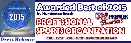 Press Release: 2015 Best Professional Sports Organization
