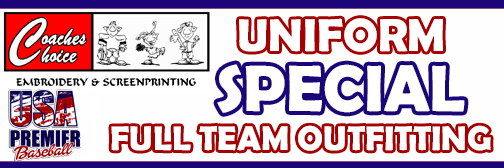 Uniform Special - Coaches Choice - Si Pettrow