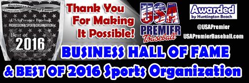 Press Release: 2016 Best Professional Sports Organization