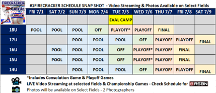 Schedule Days
