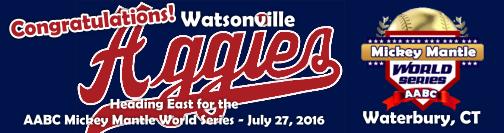 Congratulations Watsonville Aggies!
