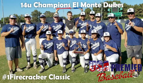 El Monte Dukes 14u Champions