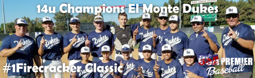14u Champions El Monte Dukes!