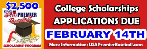 $2,500 in College Scholarships