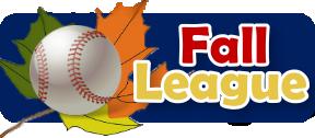 USA Premier Baseball Fall League Menu