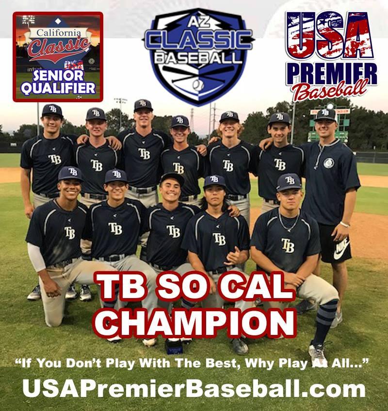 Cal Classic Senior Qualifier Champions - TB So Cal
