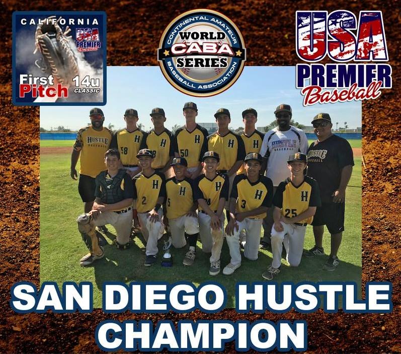 First Pitch 14u Classic Winners - San Diego Hustle