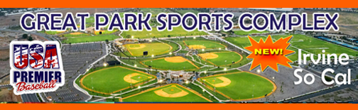 NEW - Great Park Sports Complex!