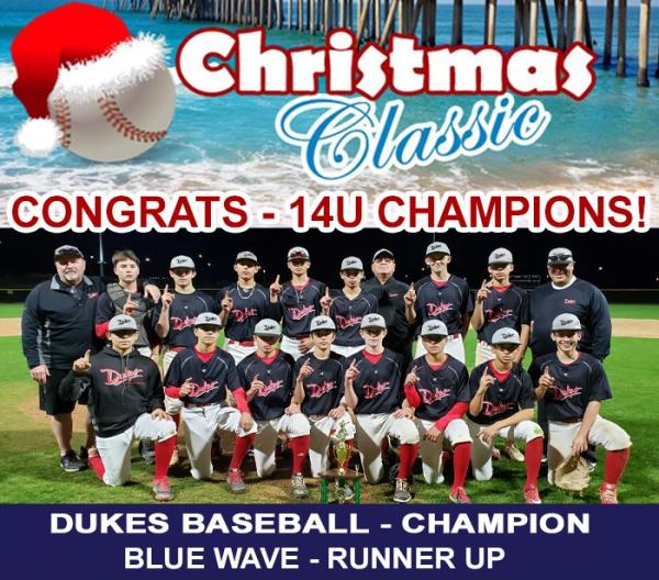 Christmas Classic Winners 14u