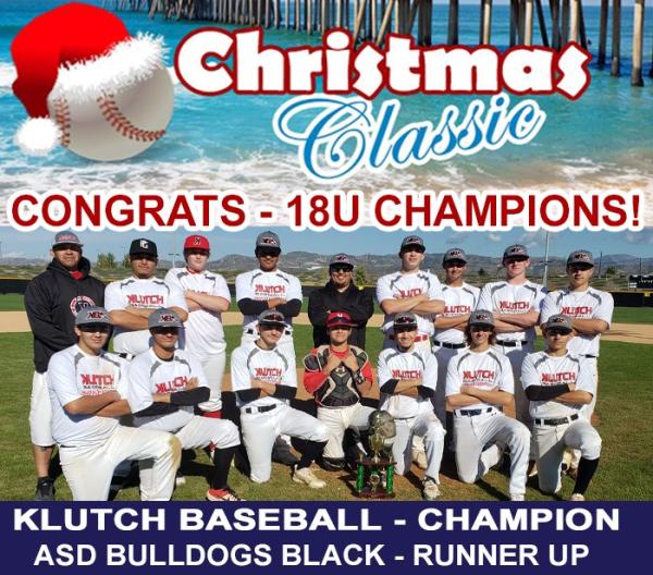 Christmas Classic Winners 18u